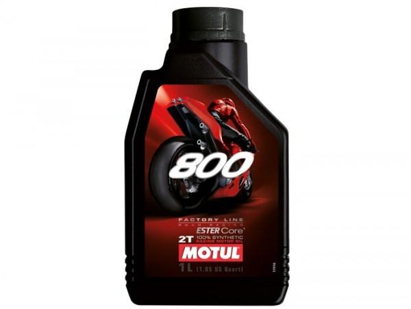 Öl -MOTUL 800 Road Racing- 2-Takt vollsynthetisch (doppel Ester) - 1000ml