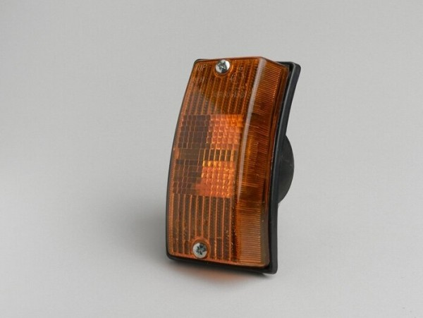 Blinker -PIAGGIO- Vespa PX80, PX125, PX150, PX200, T5 125cc vorne links - Orange