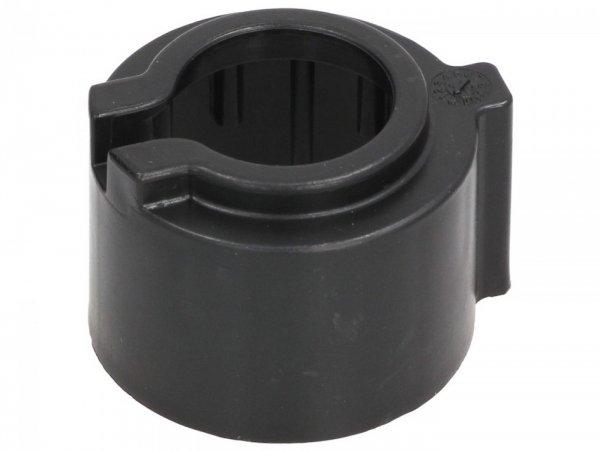 Tapón protector del rodamiento superior de la cabeza de la dirección -PIAGGIO- Vespa GT 250 (ZAPM45102), Vespa GT L 125 (ZAPM31100, ZAPM31101), Vespa GT L 200 (ZAPM31200), Vespa GTS 125 (ZAPM31300, ZAPMA3100, ZAPMA3200, ZAPMA3700), Vespa GTS 150 (ZAP