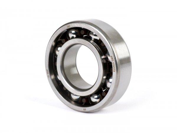 Kugellager -SKF 6205 ETN9C4- (25x52x15mm)- (verwendet für Kurbelwelle in Quattrini Motorgehäuse C1/C200, Lichtmaschinen- und Kupplungssseite Vespa PK, V50, PV125, ET3)