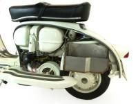 Boîte à gants sous aile -TD-Customs- Lambretta LI (série 1, série 2), TV (série 1, série 2)