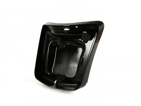 Rücklichtrahmen zur Umrüstung -MOTO NOSTRA für Montage neuer Rücklichttyp ab Bj.2014 auf Fahrzeugen bis Bj.2014- Vespa GT, GTS 125-300, GTL (-2014) - schwarz glänzend
