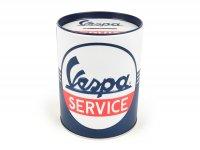 """Hucha -Nostalgic Art- Vespa """"Service"""", Ø=10cm x 13cm, 1000ml"""