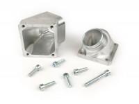 Intake manifold -MMW- Piaggio 2-stroke Maxi - CS=40mm, inner Ø=35mm