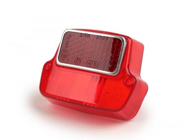 Rücklichtglas -SIEM- Vespa V50 (bis Fg.Nr. V5A1T0122876)