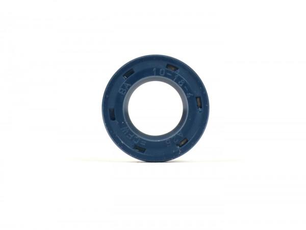 Aro de retención 10x18x4mm -CORTECO- (para eje leva cambio Vespa PK XL2 - bomba de agua Minarelli 50cm³ (tipo MA, CA)