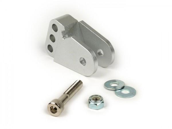 Shock absorber raiser -OEM QUALITY- CPI, Keeway, Generic - silver