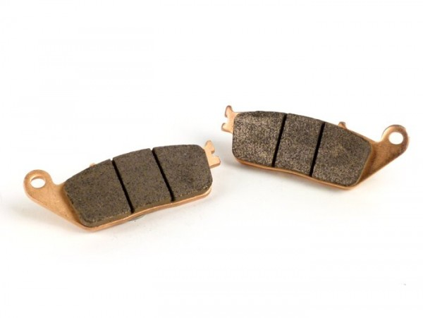 Brake pads -POLINI Sintered 102.0x39.0mm- Kymco X Citing 400 I (2012-), Kymco X Citing 500, Kymco X Citing 500I