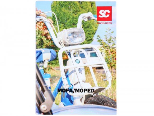 Brochure -SC Specials: Piaggio Ciao, SI, Boxer, Bravo- German