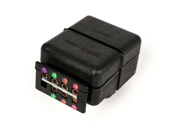 Regulador de tensión (Impedancia) - Caja conexiones -CASA LAMBRETTA- Lambretta (Serie 2, Serie 3) - 4-polige Zündung