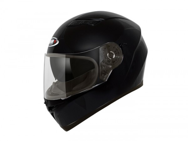 Helm -SHIRO SH600, Integralhelm- schwarz - XS (53-54 cm)