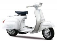 Modelo a escala -MAISTO 1:18- Vespa 125 GT125 (1966) - blanco