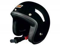 Helmet -ORIGINE Primo- open face black - S (55-56cm)