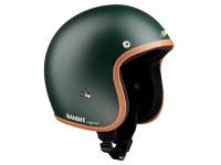 Casque -BANDIT Jet Premium Line- British Racing Green - XXL (63cm)