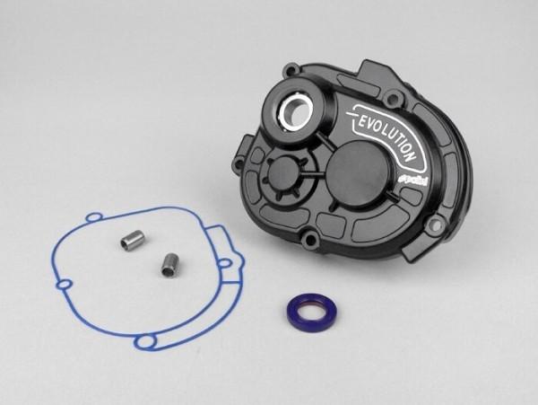 Getriebedeckel -POLINI Evolution- Piaggio 50 ccm (ab Bj. 1998) - für Polini Evolution und Malossi MHR Getriebe