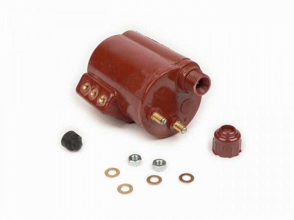 Ignition coil -LAMBRETTA- Lambretta LD 125 (since 1956), LD 150, D 150, LI (Series 1-2), TV (Series 1-2) - plastic housing