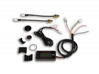 Indicador de temperatura -MALOSSI dual- universal -25°C - +250°C (-13°F - +482°F) - (69mm x 32mm x 16mm)