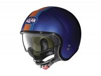 Helmet -NOLAN, N21 Joie de Vivre- open face helmet, matt cayman blue - XL (61-62cm)