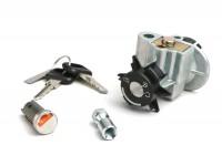 Lock set -PEUGEOT- Ludix (10' wheels)