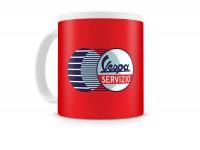Mug -FORME- Vespa, Servizio - red