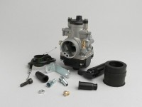 Kit Carburatore -MALOSSI 21mm Dellorto PHBG BS- Peugeot 50-100 ccm 2 tempi - AM=23mm - HONDA BALI 50, DIO, SFX, SGX SKY, SH 50, SHADOW 50, X8RS, X8RX, SXR, PEUGEOT BUXY 50, ELYSEO 50, ELYSTAR 50, JETFORCE 50 TSDI, LOOXOR 50 TSDI, SPEEDAKE, SPEEDFIGHT