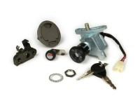 Lock set -MBK/YAMAHA- Yamaha Aerox (YQ50/L, 2-stroke) (2003-), MBK Nitro (YQ50/L, 2-stroke) (2003-)