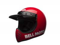 Casque -BELL MOTO-3 Classic Red 17- casque cross, rouge - XL (61-62 cm)