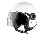 Helmet -VESPA VJ- open face helmet, white - XS (52-54cm)