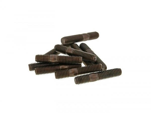 Stud set -M6 x 32mm- (used for exhaust/cylinder) - 2 pieces