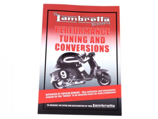 Book -Lambretta, Performance, Tuning and Conversions-