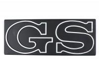 Schriftzug Seitenhaube -VESPA- GS - Vespa PX Lusso 200 GS (Bj. 1984-1997)
