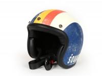 Helmet -DMD Jet Vintage- open face helmet, vintage - Squadra Corse - M (57-58cm)