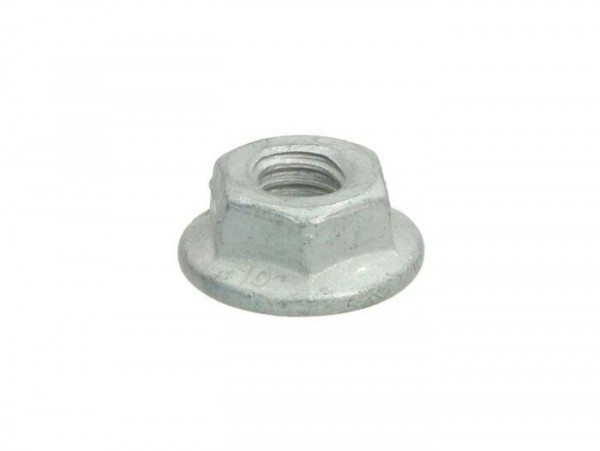 Nut with flange -DIN 6923- M6 x 1.0