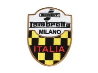 Patch -LAMBRETTA INNOCENTI MILANO ITALIA- 80x60mm