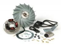 Zündung -PINASCO Flytech- Vespa Wideframe V15-33, VM, VN, ACMA, VB1, VGL1, VL - 1600g