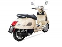 Pot d'échappement -REMUS (sans catalyseur) Ø=65mm- Vespa GTS 125 (2017-, Euro 4, MA3A) - carbone