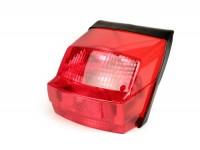 Rücklicht -MOTO NOSTRA- Vespa PX alt (-1984) mit E-Kennzeichnung - Rot