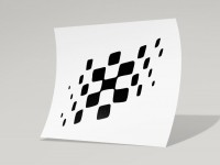 Aufkleber -LAMBRETTA Checkered Flag- DL, GP -