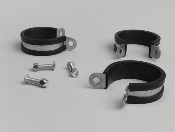 Abrazaderas guardabarros delantero -MALOSSI F32S-