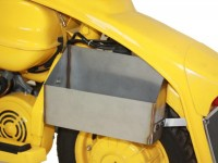 Glove box under side panel -TD-Customs- Lambretta LI (series 3), TV (series 3), LIS, SX, DL, GP