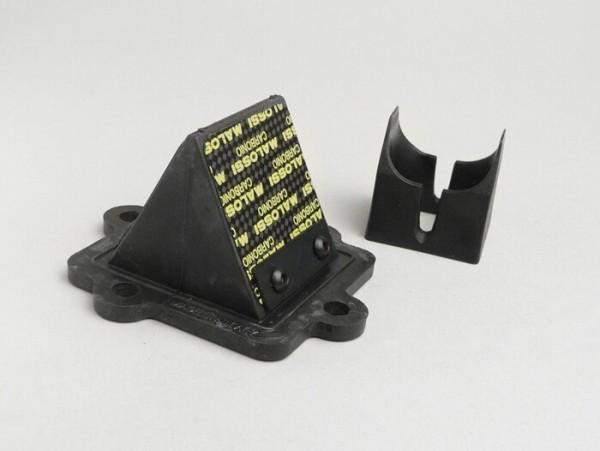 Membranblock -MALOSSI MHR 45°- Minarelli 50-100 ccm (horizontal), Suzuki/Aprilia 50 ccm, CPI, Keeway, Sachs
