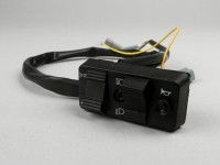 Light switch -PIAGGIO- Vespa PX Elestart (1998-) - 10 wire (DC, models with battery, NOC) - multiple plug connector for headlight