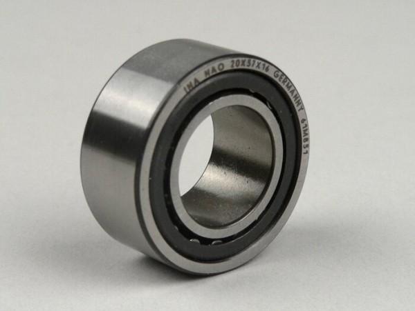 Nadellager -NAO 20-37-16- (20x37x16mm) - (verwendet für Kurbelwelle Lichtmaschinenseite Lambretta Lui 50-75, J50, J100, J125 (Bj. 1966))