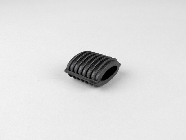 Kickstartergummi -PIAGGIO- Vespa Largeframe - gerillt- Schwarz