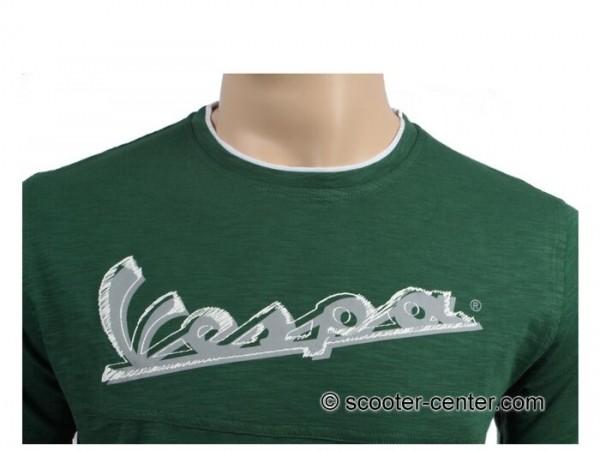 T-Shirt -VESPA Original- grün - M