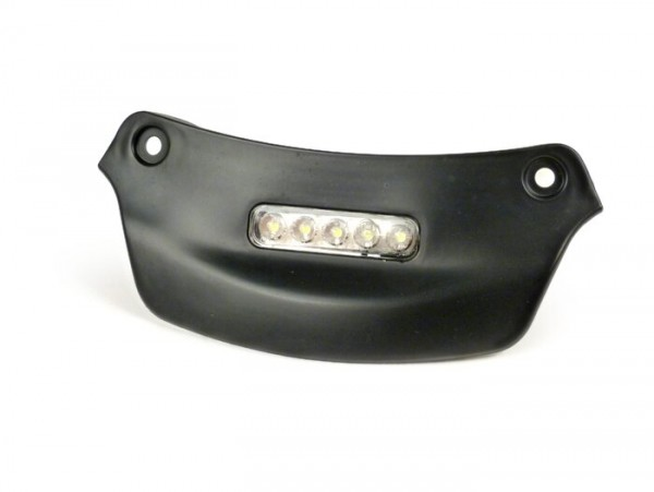 Number plate light -MOTO NOSTRA LED- Vespa Primavera, Sprint - matt black