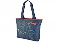 Vespa shopping bag Nylon -VESPA 43x36x9cm-