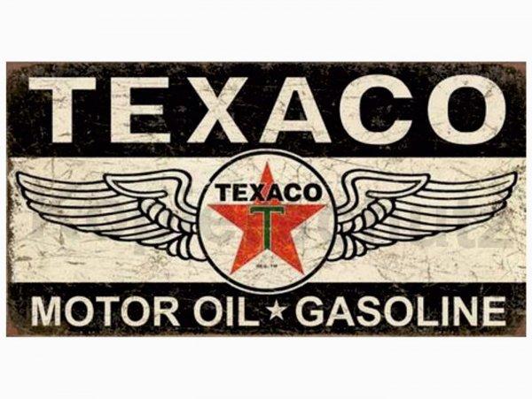 "Aufkleber -100 x 53mm- ""Texaco Motor Oil 2"""