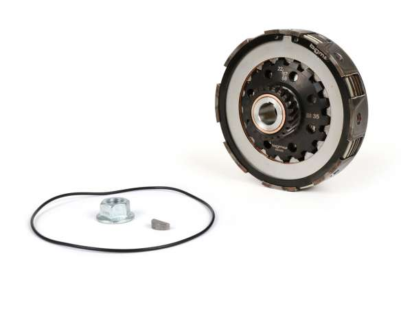 Clutch -SC, Largeframe, type Cosa2/FL- for primary gear 67/68 tooth - Vespa PX80, PX125, PX150, T5 125cc, Cosa, Sprint150, Rally180, GT125/GTR125, TS125, GL150, Super125 (VNC1 , 11001-), Super150 - 22 tooth