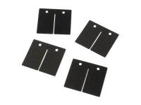 Reed petals -MALOSSI MHR VL17- Vespa Largeframe, Smallframe, Minarelli AM6 - carbon fibre (0.3, 0.35, 0.4mm)